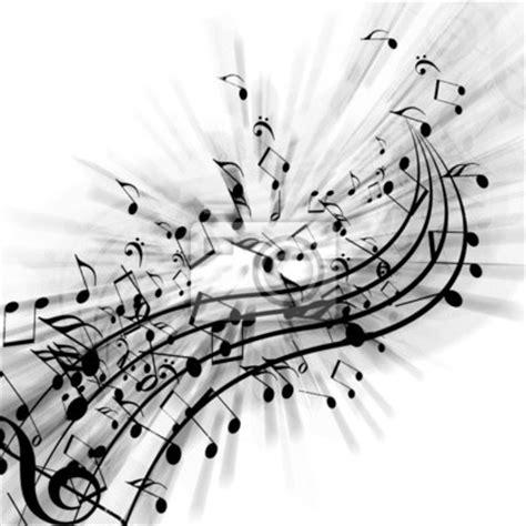 papier peint notes de musique contexte noir pixers fr
