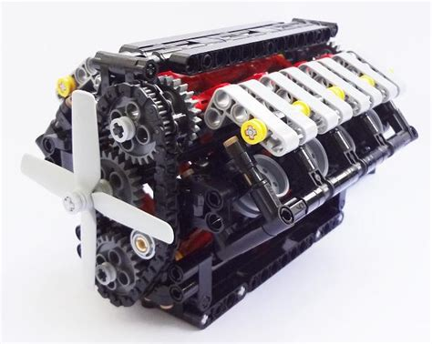realistic engines lego technic mindstorms model team