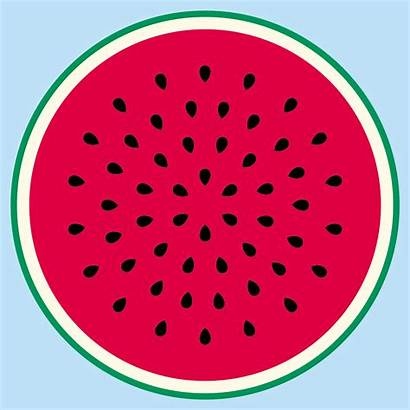 Watermelon Clip Clipart Seed Border Circle Cliparts