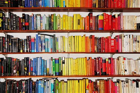 color coded net the colour coded bookshelf 18 inspiring exles the