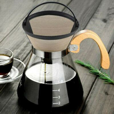 This coffee filter is designed to fit most automatic drip style coffee machines that utilize the #2 size cone filter. Reusable Gold Tone Permanent #4 Cone Shape Coffee Filter ...