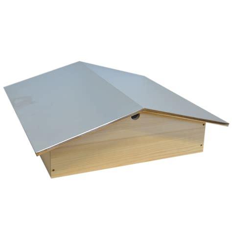 ruche dadant 12 cadres en kit la ruche dadant 12 cadres toit en aluminium les ateliers artisanaux de la fondation perceval