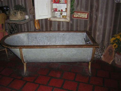 Trough Tub by Galvanized Trough Shower Metal Bathtub