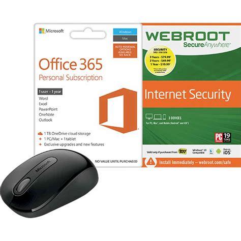 Office 365 Best Buy by Best Buy Webroot Secureanywhere Security