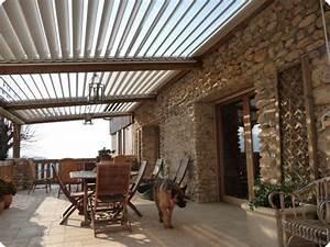 Pergola Bois Bioclimatique : 17 best ideas about terrasse couverte on pinterest design terrasse couverte pergola couverte ~ Louise-bijoux.com Idées de Décoration
