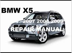 Download 2007 2008 2009 Bmw X5 factory repair manual YouTube