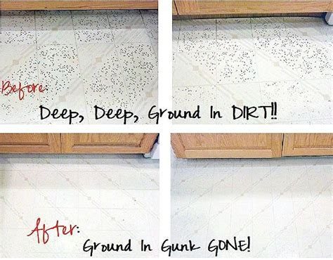 A Surprising Way To Get Stubborn Dirt Out Of Your Linoleum