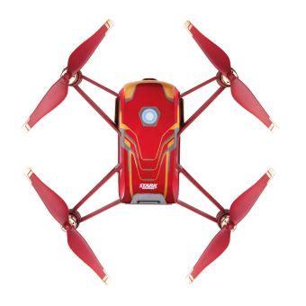 drone dji ryze tello iron man serie limitee drone photo video achat prix fnac