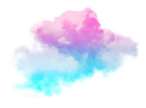 clouds cloud fog smoke colorful sky space pink blue blu