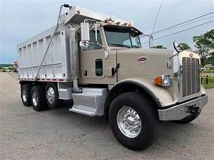2015 Peterbilt 365 Tri Axle Dump Truck