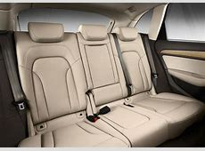 2013 Audi Q5 rear seats