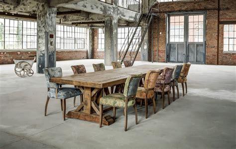 Table De Ferme, Table De Campagne, Vintage, Grande, Bois