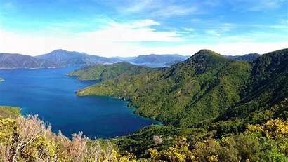 Zealand Marlborough Sounds Queen Charlotte Track Sound