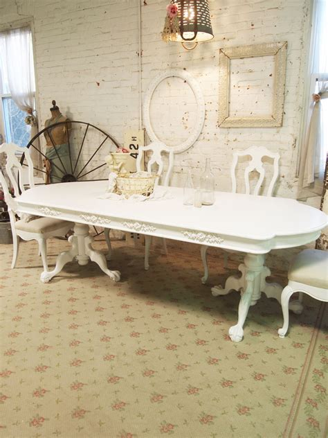 shabby chic breakfast table shabby chic dining table tjihome