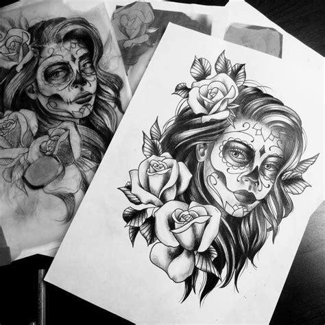 mexikanische tattoos vorlagen la catrina bedeutung was steht hinter dem trend tattoos zenideen