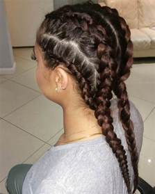 African Goddess Braids Hairstyles
