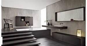 Arredo bagni moderni immagini : Un bagno moderno con vasca a incasso acheo design