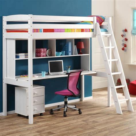 bureau en mezzanine focus sur le lit en hauteur ou lit mezzanine le roi du