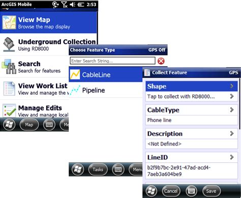 arcgis for windows mobile mapping underground assets using arcgis for windows mobile