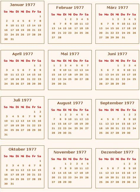 kalender feiertage