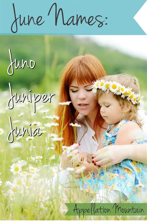 List of rhyming first names. June Names: Juno, Juniper, and Junia (With images ...