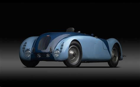 Bugatti Type 57g Tank 1937 Widescreen Exotic Car