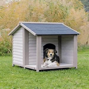 Hundehütte Mit Terrasse : trixie hundeh tte lodge h tte f r hunde ~ Watch28wear.com Haus und Dekorationen