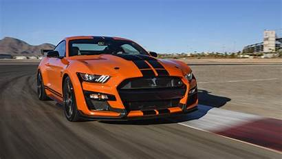 Mustang Shelby Gt500 4k Ford Wallpapers Orange