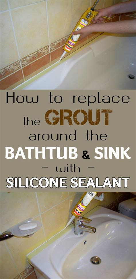 silicone around kitchen sink how to replace the grout around the bathtub and sink with 5211