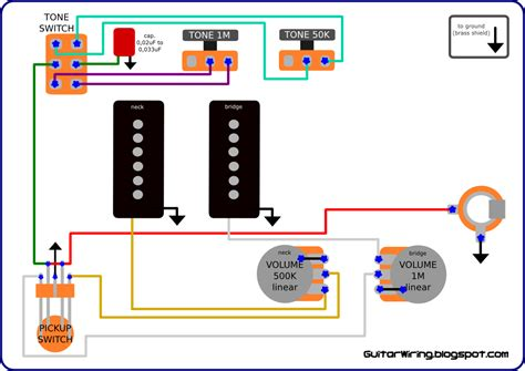 the guitar wiring diagrams and tips fender jazzmaster wiring mod