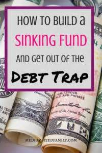 define sinking fund bond how to use the sinking fund method to get out of the debt trap