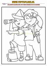Piraten Caillou Coloring Kleurplaten Pirate sketch template