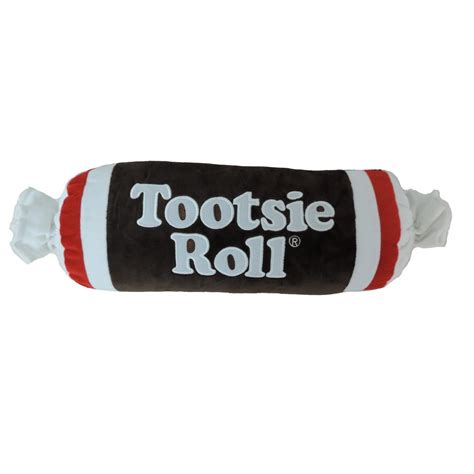 tootsie roll tootsie roll embroidered plush pillow plush candy with polyfill ebay
