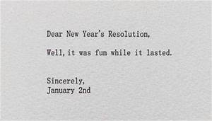 21 Funny Quotes... Year End Resolution Quotes