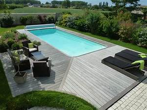 Pose margelle bois piscine 5 france terrasse bois le for Pose margelle bois piscine