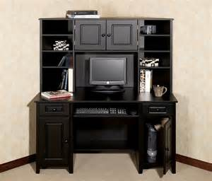 small black desk with hutch black desk with hutch compact