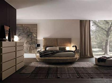 circle bed in unique bedroom interior design