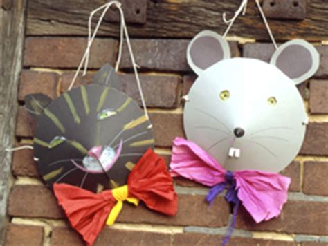 bricolage masques chat  souris