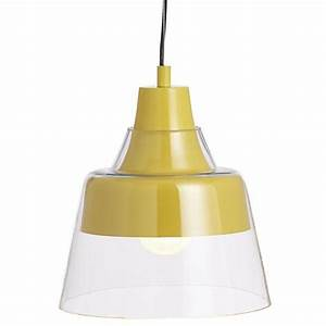Webster yellow pendant lamp crate and barrel