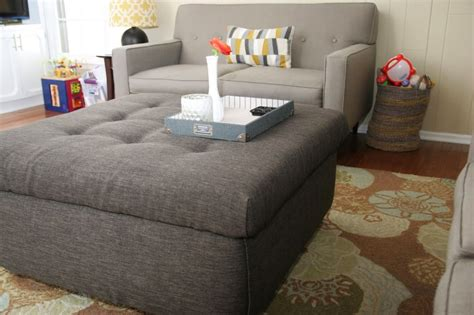 Find more similar words at wordhippo.com! Turn an Ugly Coffee Table into an DIY Ottoman - Homemade Ginger