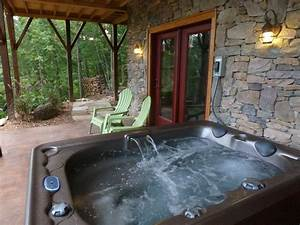 River Magic, Romantic Luxury Log Cabin with Hot Tub, Hot ...