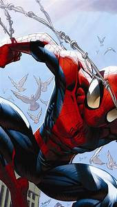 FREEIOS7 | ultimate-comics-spider-man - parallax HD iPhone ...