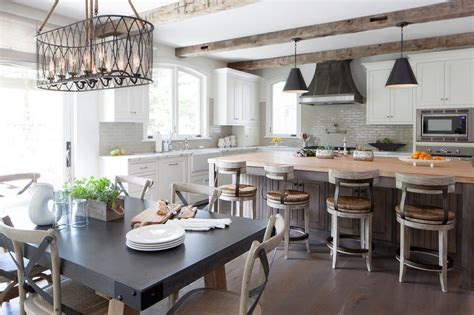 Maple Butcher Block island with Wood and Seagrass Bar