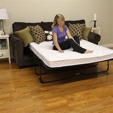 traditional sleeper sofa bed amazon com classic brands innerspring sofa mattress