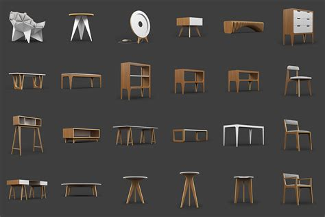 25 Free 3D Furniture Model by ODESD2   3D Architectural