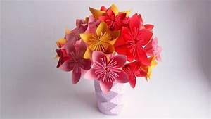 Origami Fleur Coeur D étoile : 1001 mod les d 39 origami fleur facile pour c l brer le ~ Melissatoandfro.com Idées de Décoration