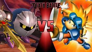 DEATH BATTLE Prelude - Meta Knight VS Sparkster by ...