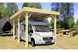 Carport Camping Car : carport evasion camping car 23 4m couvert ~ Dallasstarsshop.com Idées de Décoration