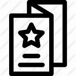 Flyer Icon Icons Premium Marketing Lineal