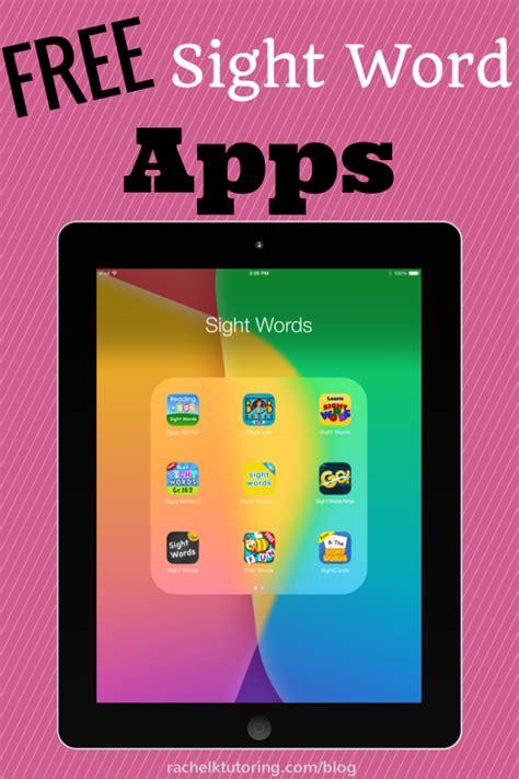 free sight word apps k tutoring 590 | sight words 682x1024